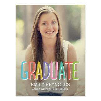 明るい|カラフル|卒業|発表か招待