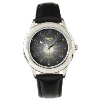 明るい《星座》乙女座 腕時計