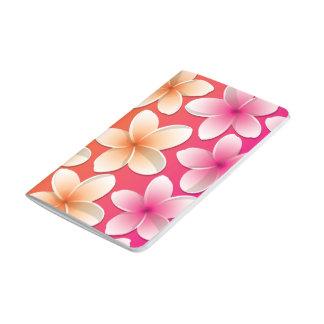 明るいFrangipani/のプルメリアの花 ポケットジャーナル