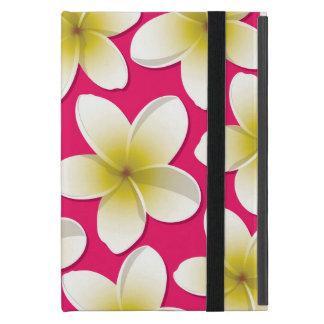 明るいFrangipani/のプルメリアの花 iPad Mini ケース