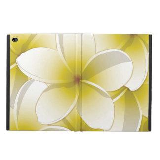 明るいFrangipani/のプルメリアの花 Powis iPad Air 2 ケース