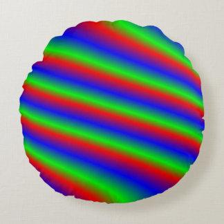 明るいRGB ラウンドクッション