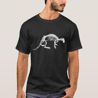 明るいWhite川のカワウソの骨組Tシャツ Tシャツ
