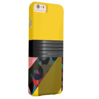 明るくファンシーで黄色い虹のチータ BARELY THERE iPhone 6 PLUS ケース