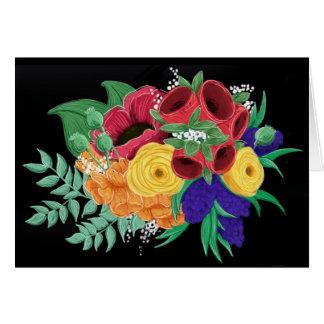 明るく及び美しい花のNotecard カード