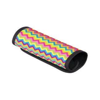 明るく多彩なジグザグ形のシェブロンの荷物の覆い ラゲッジ ハンドルラップ