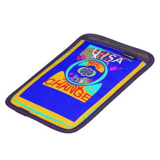 明るく多彩な変更の明るい希望の電子工学の芸術 iPad MINIスリーブ