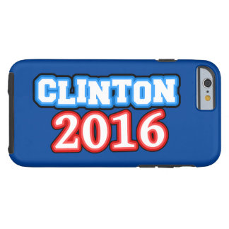 明るく着色されたヒラリー・クリントン2016年 ケース