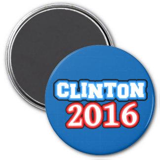 明るく着色されたヒラリー・クリントン2016年 マグネット