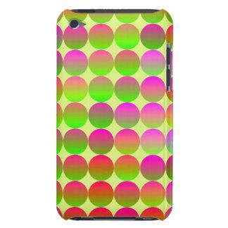 明るく着色された点 Case-Mate iPod TOUCH ケース