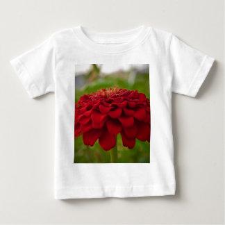 明るく赤い花(ギフト) ベビーTシャツ