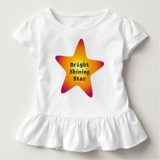 明るく輝くな星 トドラーTシャツ