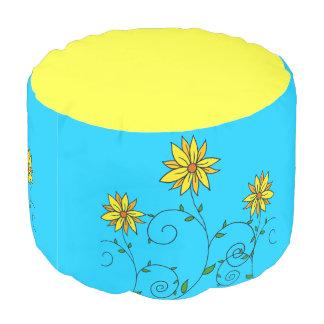 明るく陽気で黄色い花 プーフ