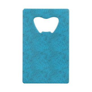 明るく青い質カードオープナ ウォレット 栓抜き