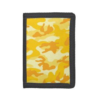 明るく黄色、オレンジ迷彩柄、カムフラージュ