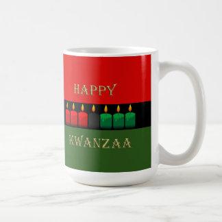 明るの輝やきのKwanzaaのマグ コーヒーマグカップ
