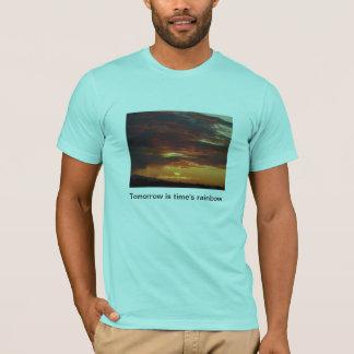 明日そして虹 Tシャツ
