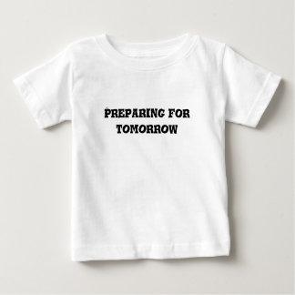 明日の文字のための準備 ベビーTシャツ