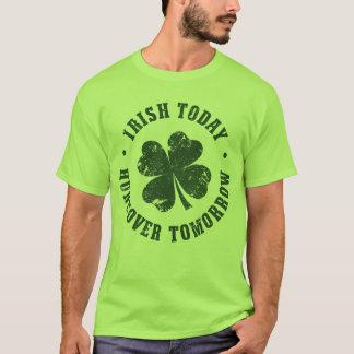 明日今日アイルランド人の残存物 Tシャツ