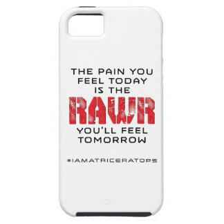 明日今日苦痛- RAWR iPhone SE/5/5s ケース