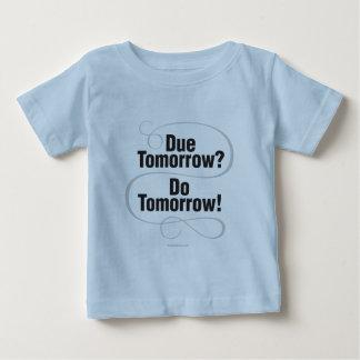 明日賦課金か。 明日! ベビーTシャツ