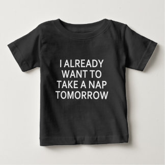 明日 ベビーTシャツ
