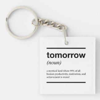 明日Keychain キーホルダー