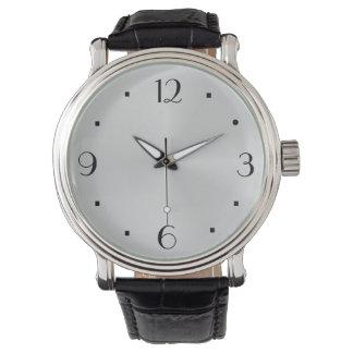 明白で大きい顔>ヴィンテージのewatchの工場腕時計 腕時計