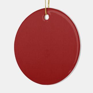 明白で空白のな赤の陰DIYは文字の引用文の写真を加えます セラミックオーナメント