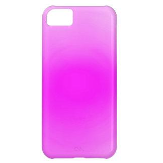 明白なピンクの背景 iPhone5Cケース