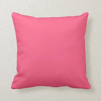明白なピンクの装飾用クッション クッション