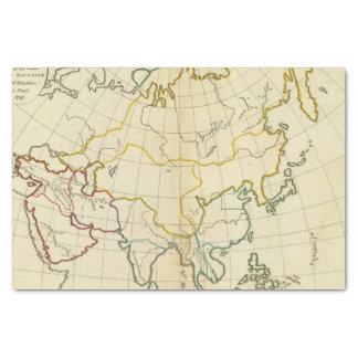 明白な地図アジア 薄葉紙