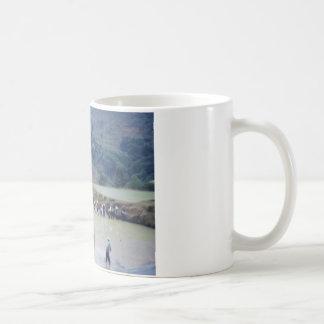 明白な景色の米分野のplanationの耕作 コーヒーマグカップ