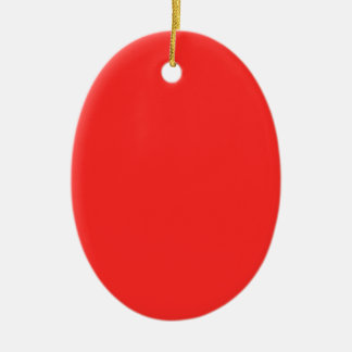 明白な赤: 空白の買いますか、または低価格文字nのイメージを加えて下さい セラミックオーナメント