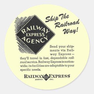 明白な鉄道-鉄道方法を出荷して下さい ラウンドシール