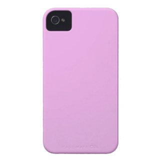 明白な陰のピンク: 書きますか、またはイメージを加えて下さい Case-Mate iPhone 4 ケース