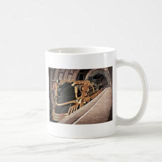 明白なSteampunk コーヒーマグカップ