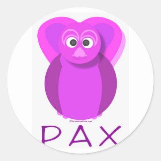明白のPAX ラウンドシール