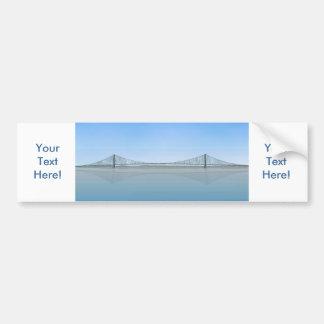 明石Kaikyoの吊り橋: 別名真珠橋 バンパーステッカー