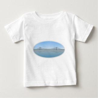 明石Kaikyoの吊り橋: 別名真珠橋 ベビーTシャツ