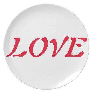 明示の祈りの言葉のプレート; 平和、愛、喜び、Thi プレート