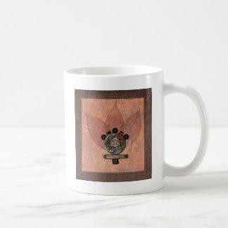 明示-コラージュ コーヒーマグカップ