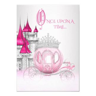 昔々シンデレラのプリンセスの誕生日 カード