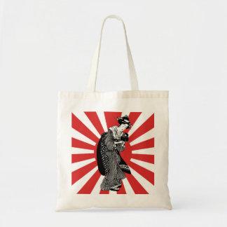 昔ながらので日本のな浮世絵の女性 トートバッグ