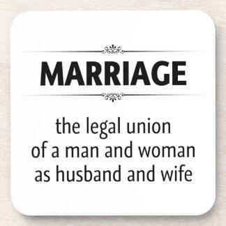 昔ながらのな結婚 コースター