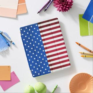 星およびストライプアメリカの旗 iPadスマートカバー