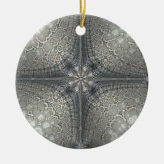 星および出生を用いるクリスマスのオーナメント セラミックオーナメント