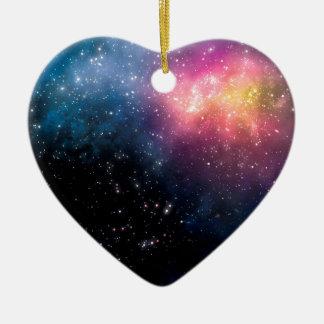 星および星雲 セラミックオーナメント