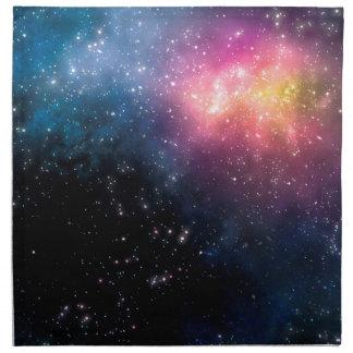 星および星雲 ナプキンクロス