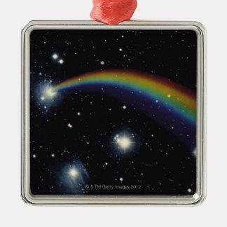 星および虹 メタルオーナメント